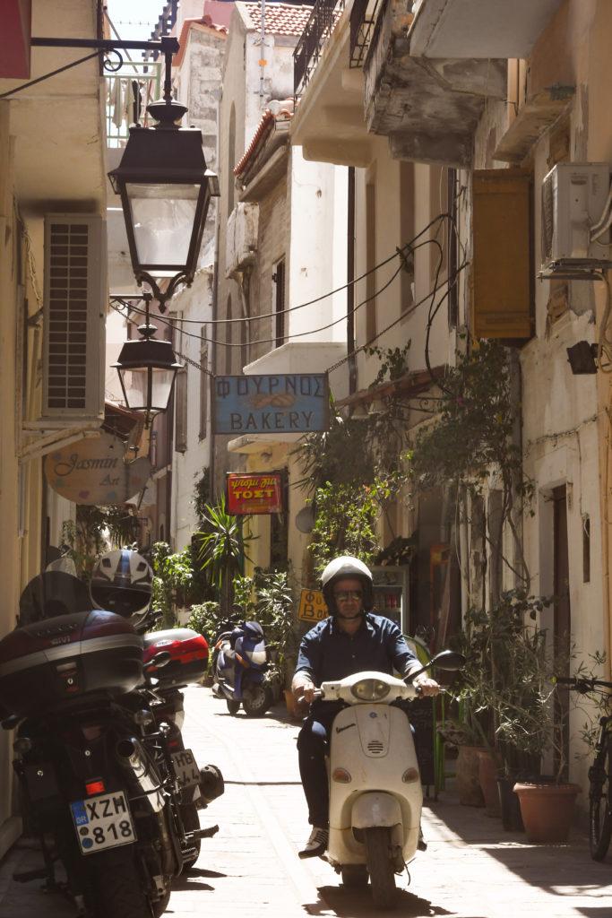 Street life Rethymnon